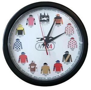 Belmont Stakes NYRA 130th Running Clock Secretariat Seattle Slew Assault