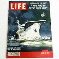 Life Magazine July 27 1959 How U.S. Ships Would Sail on Mercy Mission