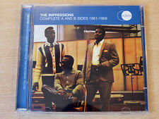 The Impressions/Complete A & B sides/2008 2x CD Album