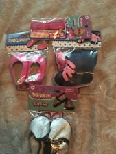 Lot Of 18 Inch Doll Shoes And Accessories