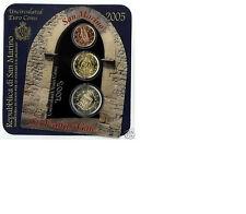 ** San Marino Minikit 2005 -2 cent/20 cent/2 euro**