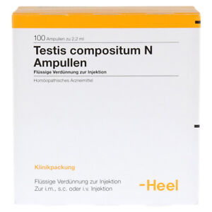 HEEL Testis Compositum 100 Amps Homeopathic Remedies