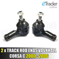 Track Rod Ends for VAUXHALL CORSA C ALL MODELS  2000 - 2006 Tie Rod End x 2 PAIR