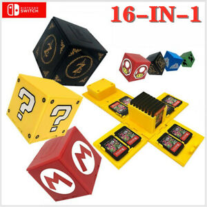 16 in 1 Game case for Switch Nintendo cartridge card storage box Mario Zelda