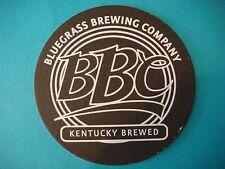 Beer Coaster Bar Drip Mat >< Bluegrass Brewing Company >< KENTUCKY BREWED ><