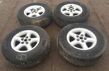 Range Rover P38  Kompletträder 4 x Alufelgen Felgen 16 Zoll & Reifen Pirelli M+S