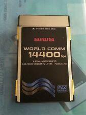 AIWA PV-JF144 V.32 PCMCIA Data/Fax Modem PC Card (ship without box)
