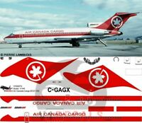 V1 Decals Boeing 727-100 Air Canada Cargo for 1/144 Airfix Model Airplane Kit