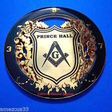 Prince Hall Mason Auto FreeMasonry Car Emblem Heavy Duty Alloy Nice Black Golden