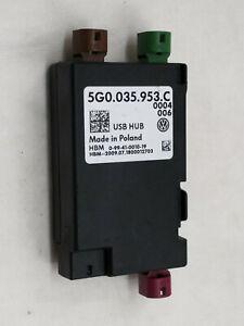 Distributor Control Unit USB HUB Volkswagen Passat 2018 5G0035953C