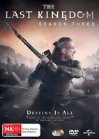 The Last Kingdom : Season 3 (DVD, 4-Disc Set) NEW