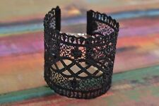 Beautiful Designer Women's Black Lace Bracelet Evening Jewelry