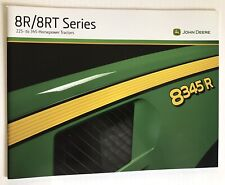 John Deere 8R/8RT Tractor Sales Brochure Agriculture 2009 USA Specifications