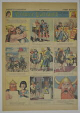 PRINCE VALIANT Full Color SUNDAY PAGE King Features Hal Foster 8/16/1942, #288