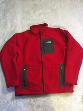 The North Face Boy Red Fleece Zip-Up Jacket, Size 18