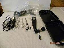 Two sets of Hair Clippers and Case with Accessories