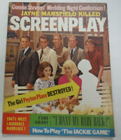 Screenplay Magazine Cary Grant & Peyton Place Destroyed September 1967 062415R
