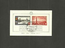 SWITZERLAND souvenir sheet Scott No. B119 used, 1942, 2018 cat 225.00