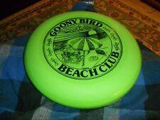 Vintage 1989 GRATEFUL GOONY BIRD BEACH CLUB Dynamic Disc Floater W/ Dean Art '89