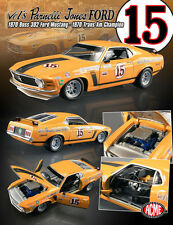 1/18 Acme 1801815 1970 Ford Mustang Boss 302 #15 Parnelli Jones Trans Am Champio