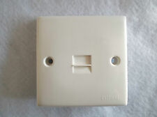 POLYCARBONATE TELEPHONE SOCKET SECONDARY BY CLIPSAL IN STANDARD WHITE FINISH
