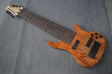 New brand 10string electric bass mahogany body with spalted maple veneer