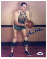 GEORGE MIKAN SIGNED AUTOGRAPHED 8x10 PHOTO CELEBRATED LAKERS LEGEND PSA/DNA