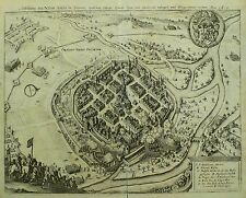Pilsen/plzen-vista general-Theatrum Europaeum-grabado 1633