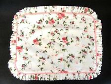 Laura Ashley Polyanthus Priory Throw Pillow Sham Cover Pink Floral