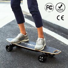 Megawheels Motorized Electric Longboard Powered Skateboard 4 Wheels 20km/h 500W
