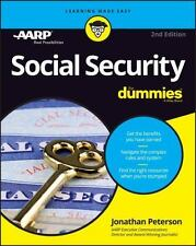 SOCIAL SECURITY FOR DUMMIES - PETERSON, JONATHAN - NEW PAPERBACK BOOK