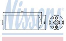NISSENS Filtro deshidratante, aire acondicionado MAZDA 626 323 95345