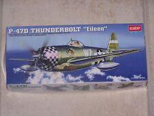 """Maquette ACADEMY 1/72ème P-47D THUNDERBOLT """"Eileen"""""""