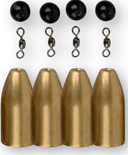 4Street Tungsten Bullet Weight Gewichte zum Dropshot Angeln auf Zander /& Barsch
