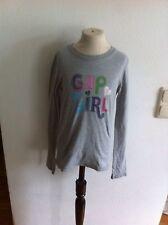 Gap Mädchen Langarmshirt Pullover Zu Jeans Hose Rock Gr. 122