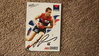 JAC GRIMES HAND SIGNED 2010 MELBOURNE DEMONS FC AFL CARD
