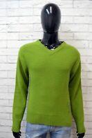 WRANGLER Uomo Taglia M Maglione Lana Pullover Maglia Cardigan Sweater Man
