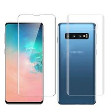 Samsung Galaxy S10E 3D Full Cover Glass Film Front+Rear Screen Protector