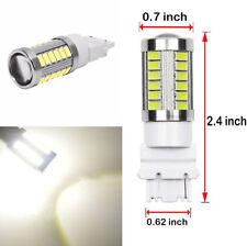 4X 3.6W 8000K White T25 3157 LED Bulbs Car Brake Tail Backup Reverse Light Lamp