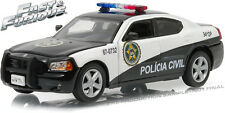 GREENLIGHT 1/43 FAST AND THE FURIOUS FAST 5 2006 DODGE CHARGER SAN PAULO POLICE