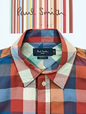 Checked Fabric PAUL SMITH Men's SHIRT SIZE Small - Really FABULOUS & COOL
