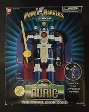 1996 Power Rangers Zeo Auric The Conqueror in box