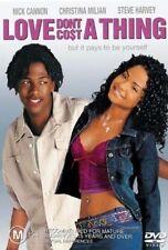 Love Don't Cost A Thing (DVD, 2004) region 4 Australia ex rental like new cond.