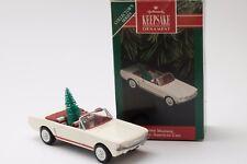 1992 Hallmark Keepsake Ornament 1966 Mustang Classic American Cars # 2