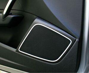 Audi A1 8x S1 quattro Abt s-line Zierrahmen Lautsprecher vorne massiv Alu