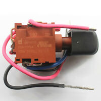 Para Electric Drill Tool DEFOND EGA-1115A 24VDC Power Trigger Switch con Wires