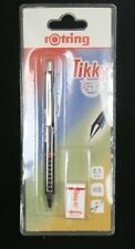 Rotring TIKKY Pencil 0.5 FREE ERASER Burgundy New