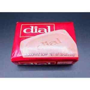 Dial Deodorant Soap Pink Regular Foil Wrapper Vintage Rare