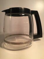 Cuisinart Replacement Glass Carafe Decanter Coffee Pot Maker Black 12 Cup