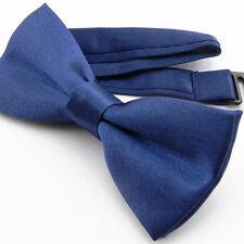 Noeud Papillon pour Enfant Réglable Satin Bleu roi - Children Bow Tie Blue